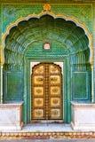 Jaipur City Palace gate Royalty Free Stock Images