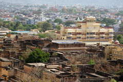 Jaipur city palace view, India Stock Images