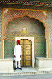 Jaipur door Royalty Free Stock Photo