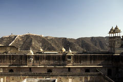 Jaipur, fort Royalty Free Stock Photos