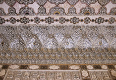 Jaipur fort ceiling Stock Image