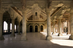 Jaipur, fort, great hall stock image