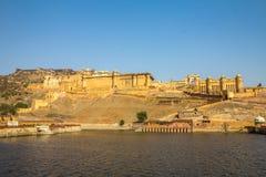 Jaipur Fort in India Stock Photos