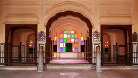 Jaipur Hawa Mahal fotografie stock libere da diritti