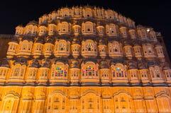 Jaipur Hawa Mahal royalty free stock photography
