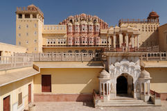 Jaipur - Hawa Mahal Palace. Beautifoul Hawa Mahal Palace in Jaipur city in India. Rajasthan stock photography