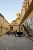 Jaipur, Inde - 29 décembre 2014 : Visite de touristes Amber Fort à Jaipur Photographie stock