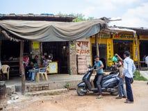 Jaipur, India, Dzienne sceny lokalni ludzie zdjęcie stock