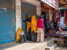 Jaipur, India, Dzienne sceny lokalni ludzie zdjęcia stock