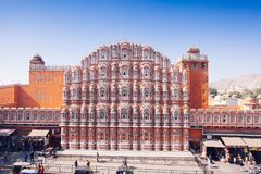 Free JAIPUR, INDIA - JAN 17: Hawa Mahal Or Place Of Winds Or Breeze J Royalty Free Stock Photos - 101172518