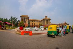 Free Jaipur, India - September 26, 2017: Beautiful Goverment Building Of Rashtrapati Bhavan Is The Official Home Of The Stock Photo - 102502400