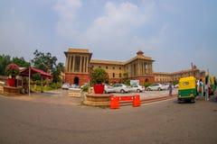 Jaipur India, Wrzesień, - 26, 2017: Piękny rządowy budynek Rashtrapati Bhavan jest oficjalnym domem Fotografia Stock