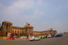 Jaipur India, Wrzesień, - 26, 2017: Rządowy budynek Rashtrapati Bhavan jest oficjalnym domem prezydent Fotografia Royalty Free