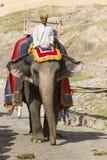 JAIPUR INDIEN - SEPTEMBER 18, 2017: Oidentifierade manrittanständigheter Royaltyfria Bilder