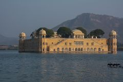 Jaipur Jal Mahal Royaltyfri Fotografi