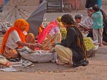 Jaipur Market, India Royalty Free Stock Photography