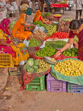 Jaipur market Scene Royalty Free Stock Images