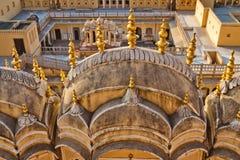 Jaipur miasta pałac fotografia royalty free