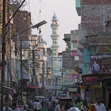 Jaipur minaret Royalty Free Stock Photography