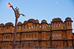 Jaipur na noite, India. Imagem de Stock