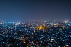 Jaipur Nightscape Imágenes de archivo libres de regalías