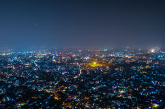 Jaipur Nightscape Royalty Free Stock Images