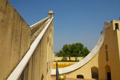 Jaipur Observatory Sundial Royalty Free Stock Image