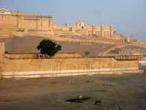 Jaipur palace fort, India Royalty Free Stock Photos