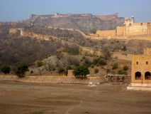 Jaipur palace fort, India Stock Photography