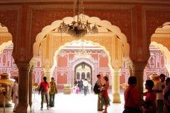 Jaipur palace. The maharaja palace of jaipur in india Stock Images