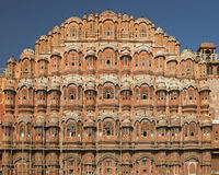 Jaipur - Palace of the Winds - India. The Hawa Mahal or Palace of the Winds in Jaipur in the Rajasthan region of western India royalty free stock photos