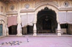 Jaipur patio Royalty Free Stock Photos
