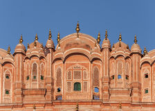 Jaipur's Winter Palace against blue sky. Royalty Free Stock Images