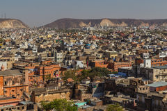 Jaipur Skyline during the day Stock Image