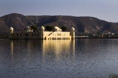 Jaipur slott i laken Fotografering för Bildbyråer