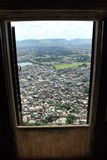 Jaipur stad (övre sikt). Royaltyfri Bild