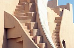 Jaipur Stairways. Building with stairways in the city of Jaipur, India Stock Images
