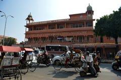 Jaipur Street Scene Stock Image