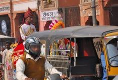 jaipur ulica Zdjęcie Royalty Free