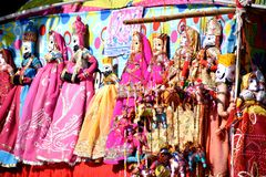 Jaipuri Craft toys royalty free stock images