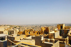 Jaisalmer全景  图库摄影