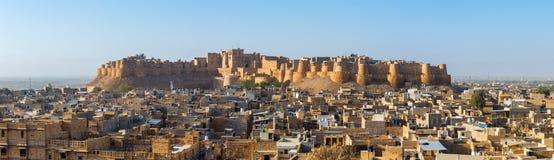 Jaisalmer堡垒在拉贾斯坦 库存照片