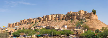 Jaisalmer堡垒在拉贾斯坦 图库摄影