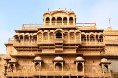 Jaisalmer堡垒宫殿 免版税库存图片