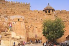 Jaisalmer堡垒,拉贾斯坦,印度 库存照片
