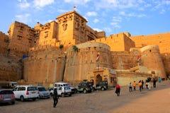 Jaisalmer堡垒,拉贾斯坦,印度 免版税库存照片