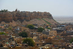 Jaisalmer堡垒 拉贾斯坦 印度 免版税库存图片