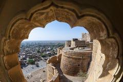 Jaisalmer拉贾斯坦,印度 免版税库存照片