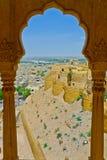 Jaisalmer视图 免版税库存图片