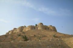 Jaisalmer金黄堡垒的不同的部分  图库摄影